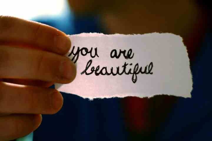 Thought for the day: You are beautiful!